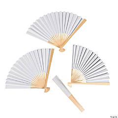 DIY Paper Fans - 48 pcs.