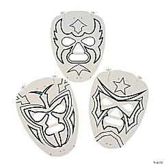 DIY Paper Masks - 12 pcs.