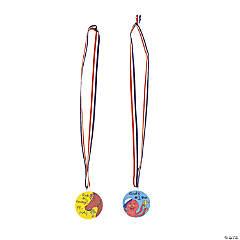 DIY Plastic Medals - 48 pcs.