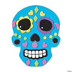 DIY Sugar Skull Magnet Kit