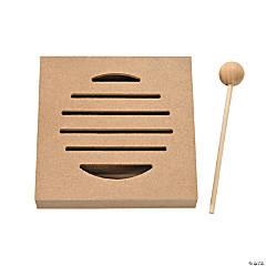 DIY Unfinished Wood Mini Rhythm Board