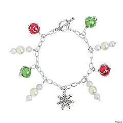DIY Winter Charm Bracelet Idea