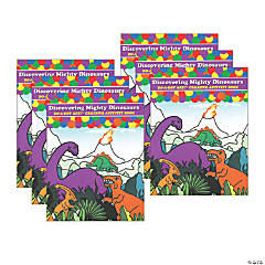 Do-A-Dot Art® Discovering Mighty Dinosaurs Creative Art & Activity Book, Pack of 6