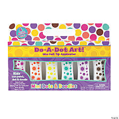Do-A-Dot Art® Mini Island Bright Dot Markers, 6 Colors