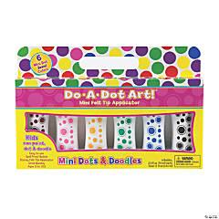 Do-A-Dot Art® Mini Jewel Tone Dot Markers, 6 Colors