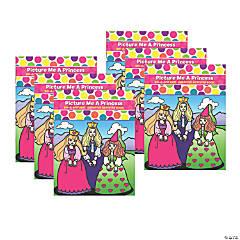 Do-A-Dot Art® Picture Me A Princess Creative Art & Activity Book, Pack of 6