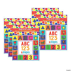 Do-A-Dot Art® Play & Learn ABC Numbers & Shapes Creative Art & Activity Book, Pack of 6