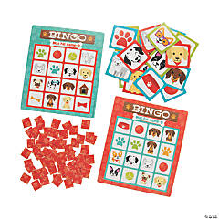 Dog Party Bingo Game