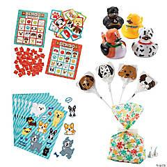 Dog Party Bingo Prize Kit