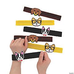Dog Party Furry Slap Bracelets