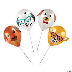 Dog Party Latex Balloon Kit