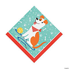 Dog Party Luncheon Napkins