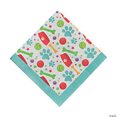 Dog Party Luncheon Paper Napkins