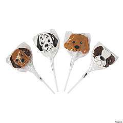 Dog-Shaped Lollipops