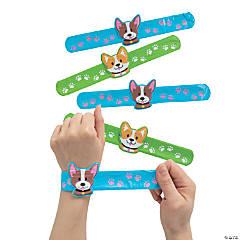 Dog Slap Bracelets with Charm