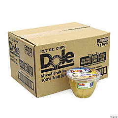 Dole Mixed Fruit in 100% Fruit Juice Cups, 7 oz, 12 Count