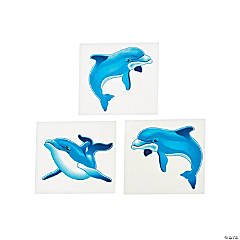 Dolphin Party Tattoos