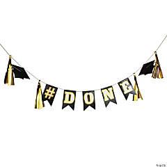 #Done Graduation Garland