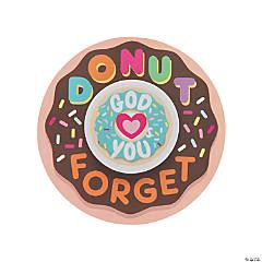 Donut Forget God Loves You Cards with Eraser