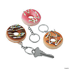 Donut Keychain Slow-Rising Squishies