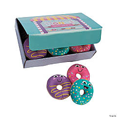 Donut Party Plush Donuts with Box