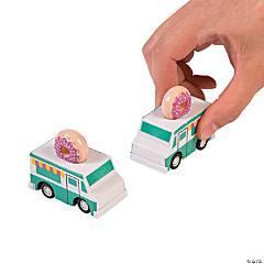 Donut Party Pull-Back Trucks