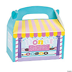 Donut Sprinkles Treat Boxes - 12 Pc.