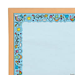 Doodle Bulletin Board Border
