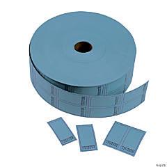 Double Roll Tickets - Blue Blank