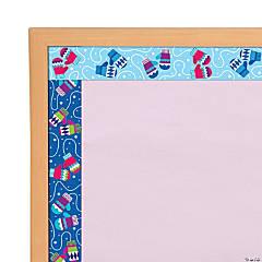 Double-Sided Mitten Bulletin Board Borders