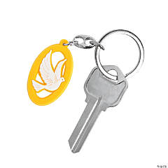 Dove Keychains