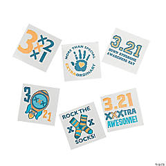 Down Syndrome Awareness Tattoos
