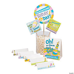 Dr. Seuss™ Oh, the Places You'll Go Buffet Decorating Kit