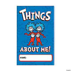 Dr. Seuss™ Things About Me Journals
