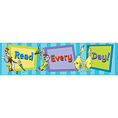 Dr. Seuss™ Cat in the Hat™ Read Every Day Banner