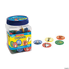 Dr. Seuss™ Counting & Sorting Chip Tub