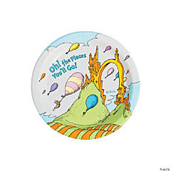Dr. Seuss™ Oh, the Places You'll Go Paper Dessert Plates - 8 Ct.