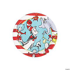 Dr. Seuss™ Paper Dessert Plates - 8 Ct.