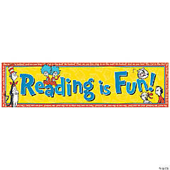 Dr. Seuss™ Reading is Fun Banner