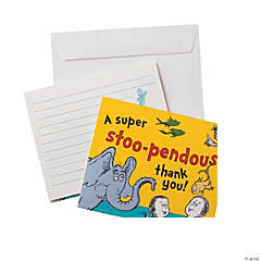 Dr. Seuss™ Thank You Cards