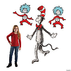 Dr. Seuss™ The Cat in the Hat™ Jointed Cutouts
