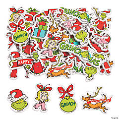 Dr. Seuss™ The Grinch Self-Adhesive Shapes