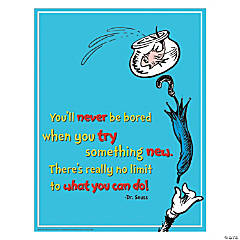 dr seuss try something new poster
