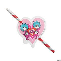 Dr. Seuss™ Valentine Pencils with Card - 24 Pc.
