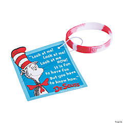 Dr. Seuss™ Welcome to Class Reading Bracelets with Card