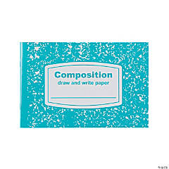 Draw & Write Half-Sized Composition Books