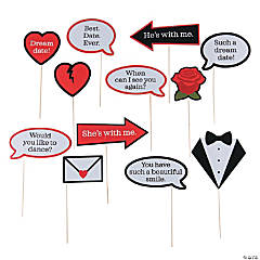 Dream Date Photo Stick Props