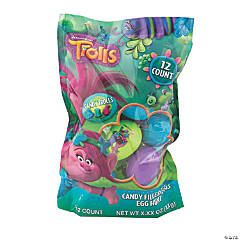 DreamWorks Trolls™ Candy-Filled Plastic Easter Eggs - 12 Pc.