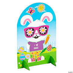 Dress-Up Easter Bunny Sticker Scenes