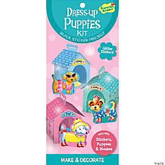 Dress Up Puppies Quick Sticker Kit